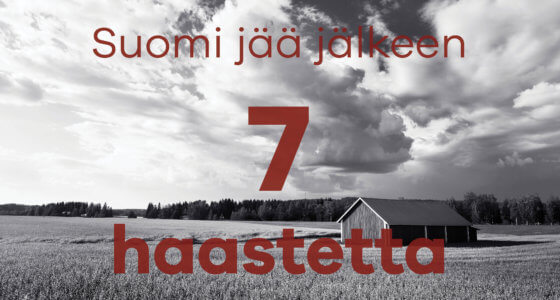 Suomen 7 haastetta IV: Pienten lasten äidit jäävät kotiin