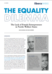 The Equality Dilemma