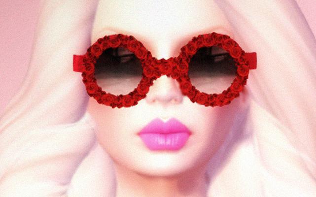 Sipilän ruusunpunaiset silmälasit