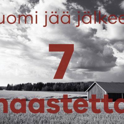 Suomen 7 haastetta VII: Tuottavuudessa ja työllisyydessä Suomi on pudonnut valiojoukosta