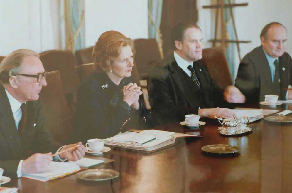 Margaret Thatcher hiililakkojen pelastajana