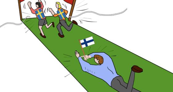Ruotsi johtaa 3-1