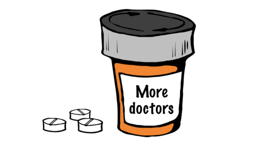 Lääkäreitä tulisi kouluttaa enemmän