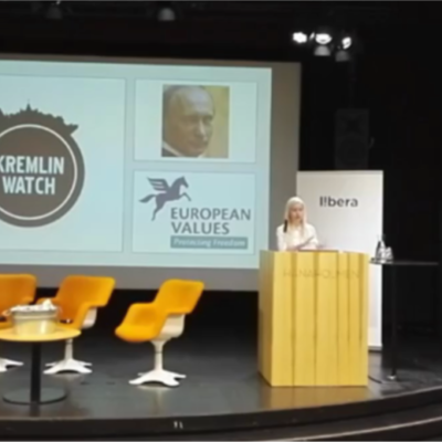 Veronika Víchová's Keynote Speech on the Kremlin Watch